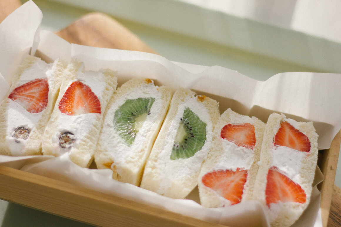 Japan's fruit sando takes sandwiches in a sweet, new direction.