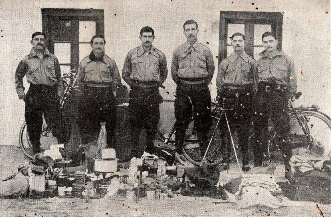 Hakim, Bhumgara, Nariman Kapadia, Bapasola, Keki Pochkhanawala, and Gustad Hathiram (left to right), called the