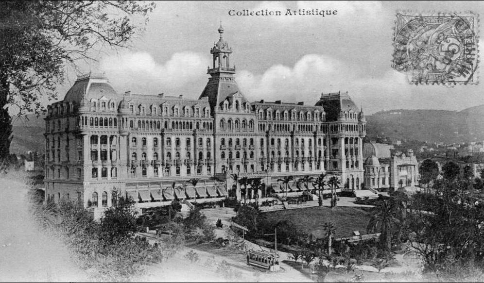 Nice's Hôtel Impérial, site of the Comtesse de Monteil's arrest. The building is now a high school.