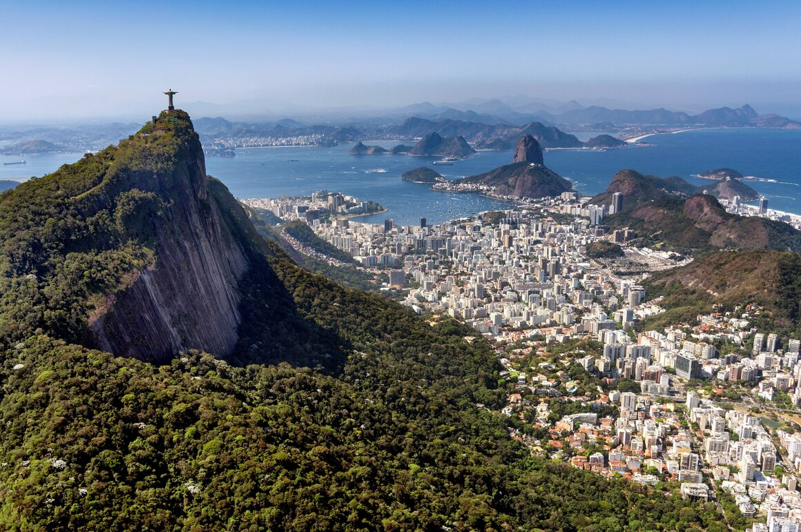 Christ the Redeemer provides unparalleled views of Rio.