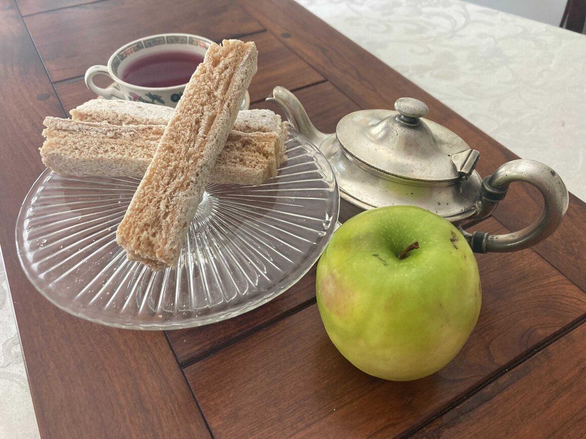 К пастилле подходят и кислые недозрелые яблоки.