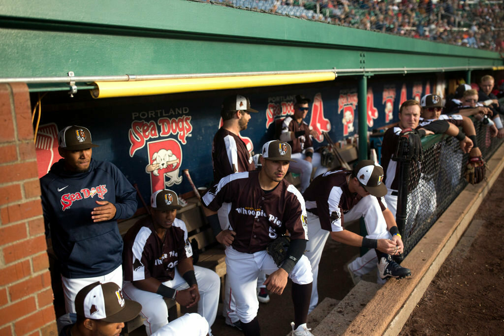 The Maine Whoopie Pies are just one of two food-themed names from the Portland Sea Dogs.