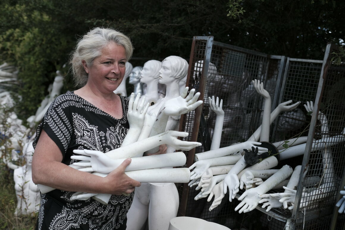 """Hands are one of the most popular items in the """"Body Part Heist."""" """"I've had people just fill up the car with hands,"""" Edwards says. There is now a five-pair limit."""