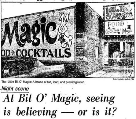 Little Bit O'Magic had a little bit o' everything.