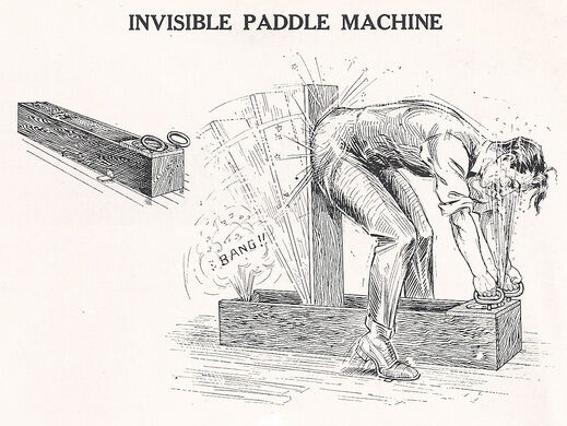 Invisible Paddle