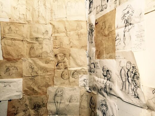Bob's original sketches