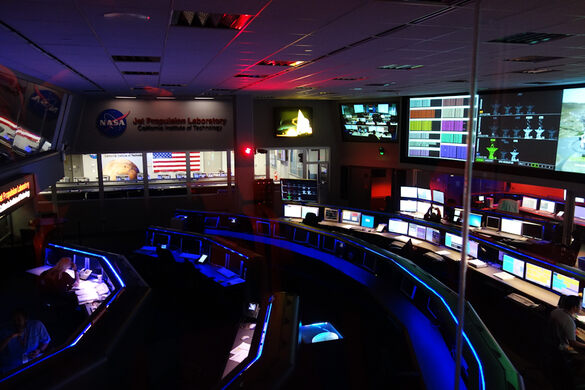 Mission Control Room at JPL
