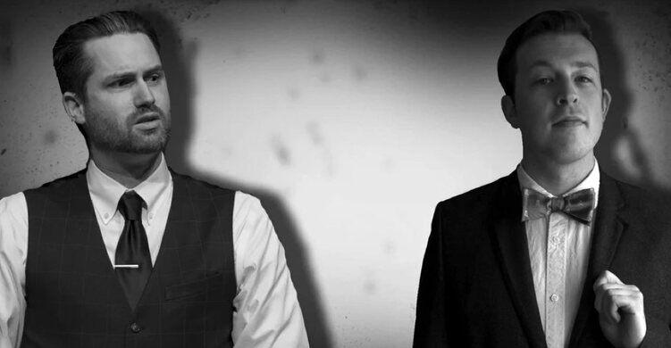 Thom Britton and Jonny Zavant