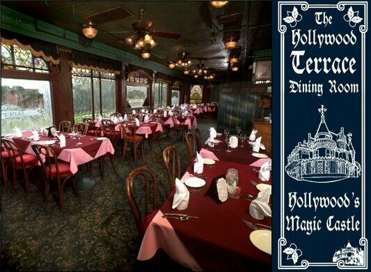 The Hollywood Terrace Dining Room