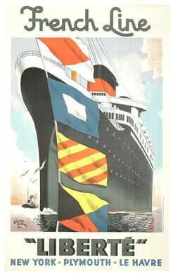 From the age of the Ocean Liner