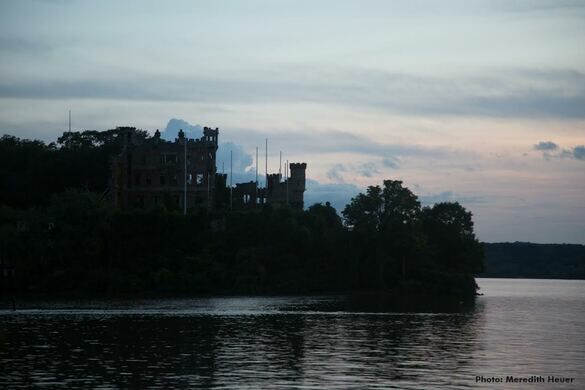 Bannerman Castle from the Water