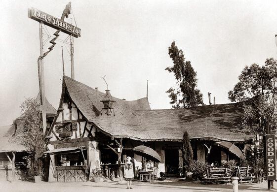 The Tam O'Shanter Restaurant, 1922