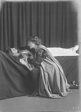 Pleasaunce Baker (Juliet), Mary Nearing (Romeo), in Shakespeare's Romeo and Juliet