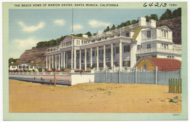 The Beach Home of Marion Davies, Santa Monica, California