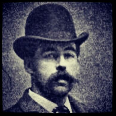 H.H. Holmes, who is often advertised as 'America's First Serial Killer.