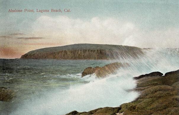 Abalone Point, Laguna Beach, pre-1920s
