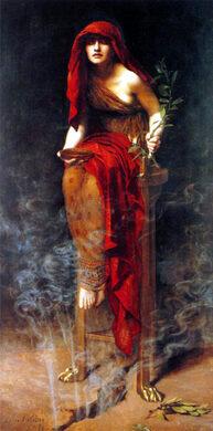 """Priestess of Delphi"""
