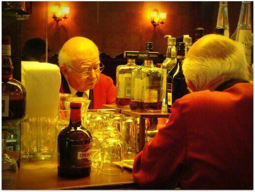 Musso & Frank bar