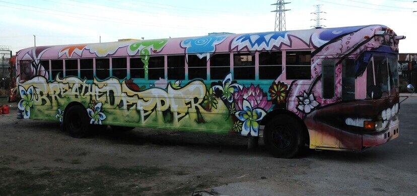 The Naud Graffiti Yard