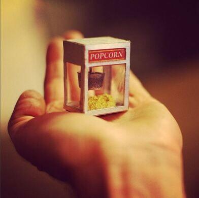 Miniature Popcorn Machine