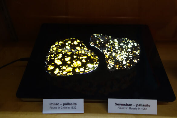 Imilac & Seymchan pallasites