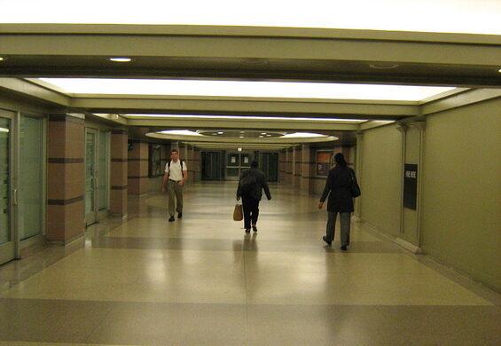 Flickr: Pedway Chicago Cultural Center