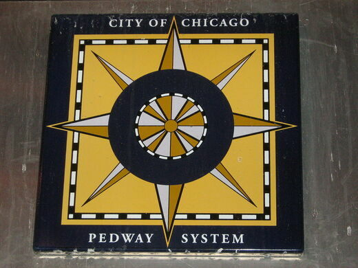 Flickr: Chicago Pedway Sign