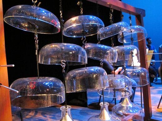 Cloud-Chamber Bowls, Harry Partch Instrumentarium
