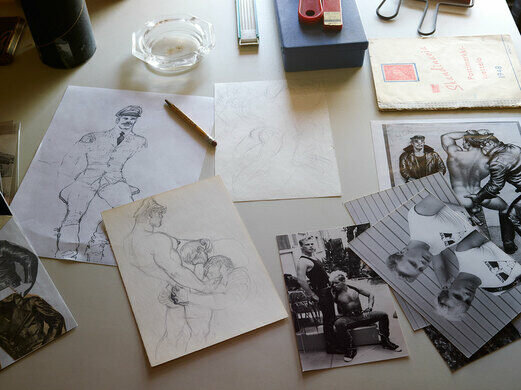 Many of the sketches and drawings appear in print for the first time in Tom House.