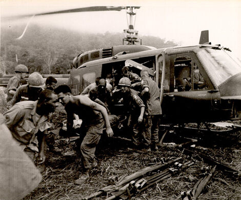 Vintage Photos from the Museum Collection - Medical Evacuation Vietnam