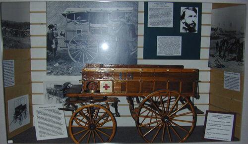 Civil War Ambulance Wagon