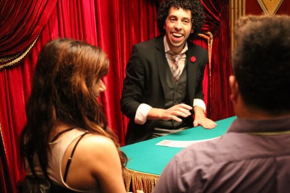 Siegfried Tieber, a magician, illusionist, and regular performer at the Magic Castle