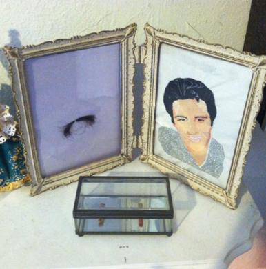 Lock of Elvis' Hair and Marilyn Monroe's Cigarette Butt
