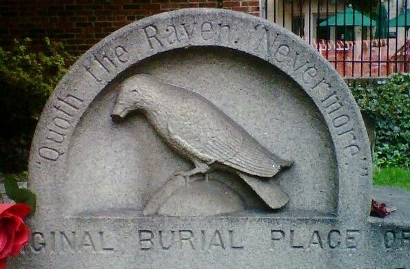 "The ""Original"" burial place of Edgar Allan Poe."
