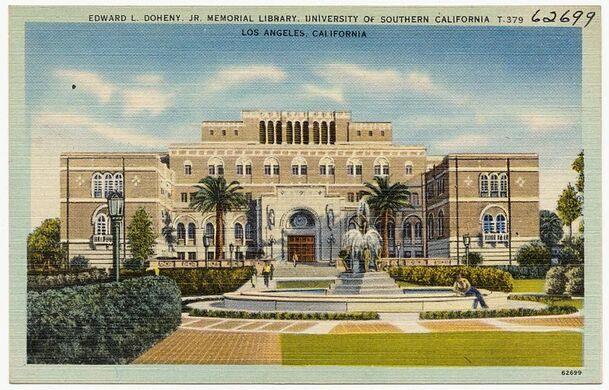 Doheny Jr. Memorial Library, USC