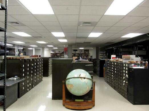 morgue at Brooklyn Public Library