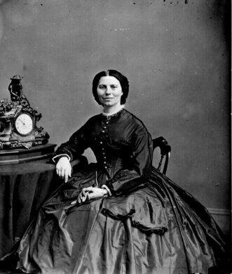 Clara Barton c. 1865