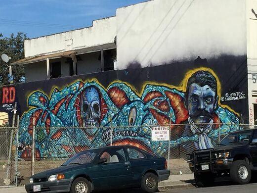 Mural by Syntek