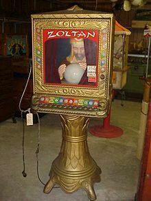 Zoltan the fortune teller