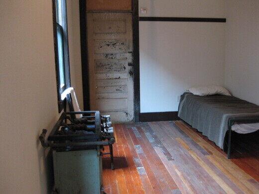 Wing Luke Museum, bachelor's hotel room