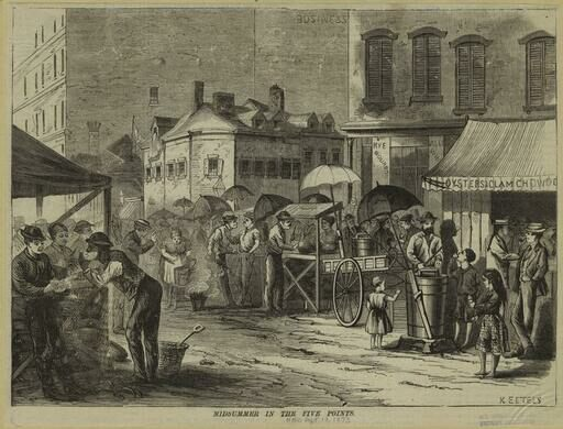 Lower Manhattan 1865