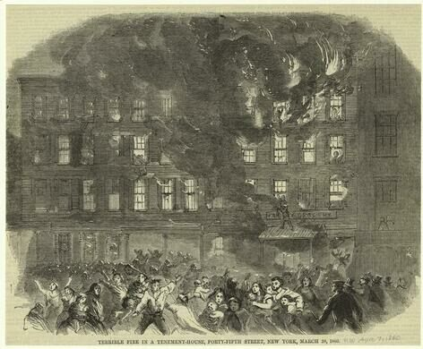 Fire in a Tenement House