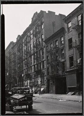 Lower East Side 1934
