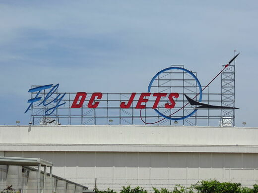 Historic Douglas Aircraft sign, circa 2013