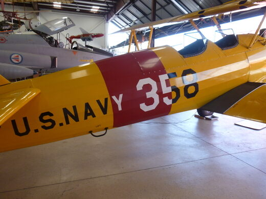 Boeing / Stearman A75N-1 at the Western Museum of Flight