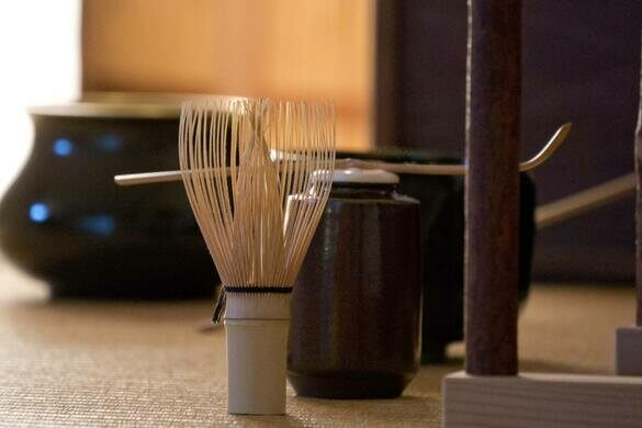 Tea wisk and implements