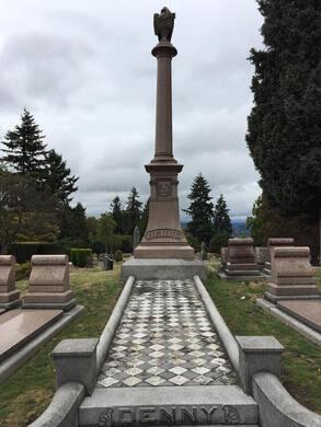 Denny Family Memorial Plot
