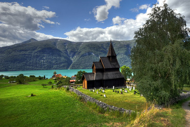 The Urnes Stave Church.