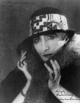 Rrose Sélavy (Marcel Duchamp). 1921. Photograph by Man Ray.