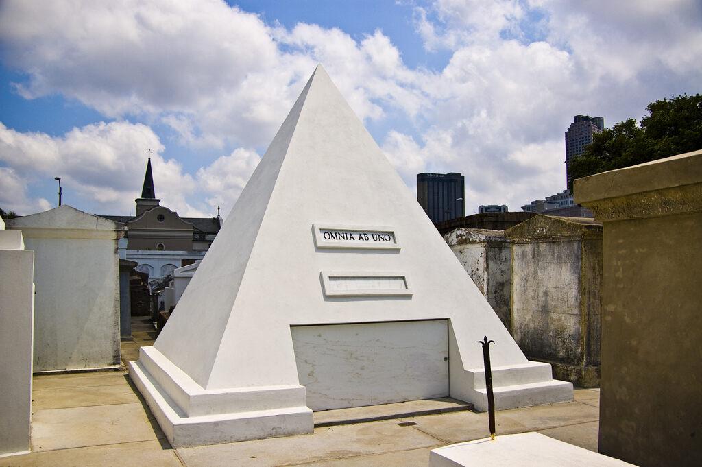 Nicolas Cage's Pyramid Tomb